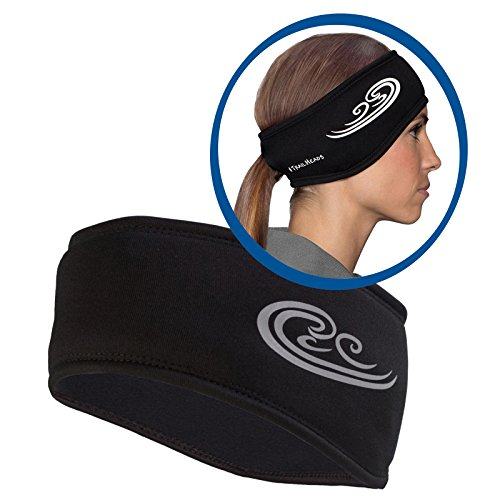 trailheads-womens-power-ponytail-headband-black-reflective-silver