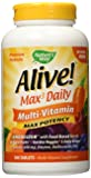 Alive Max3 Potency (No Iron Added) Multivitamin, 180 tablets