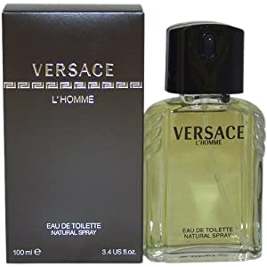 Versace L'Homme by Versace for Men - 3.3 Ounce EDT Spray