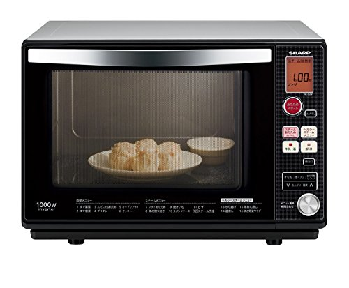 SHARP Microwave oven 26L Black RE-S26F-B system (Japan Import)