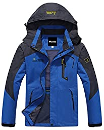 Wantdo Men\'s Breathable Super Light Polyester Jacket For Outdoor Sports(US S)
