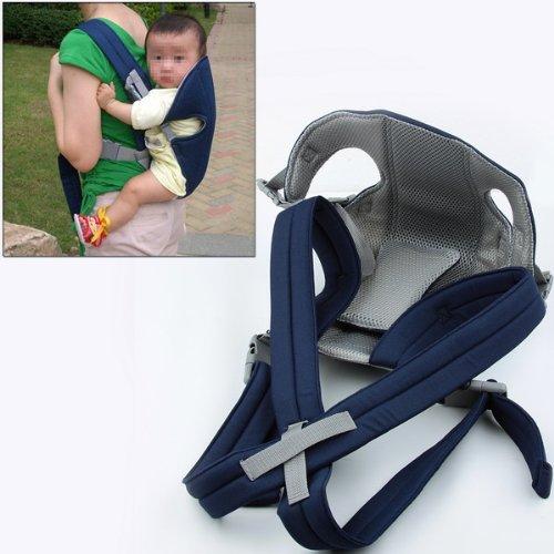Blue Baby Carrier Sling Wrap Rider Infant Comfort Backpack front-896849