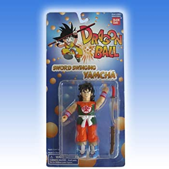 Sword Swinging Yamcha Action Figure Dragonball