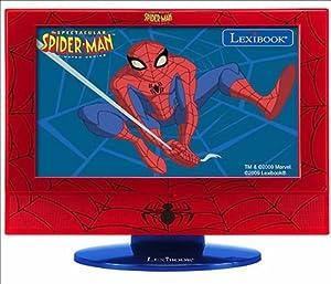 Lexibook Spiderman LCD 19- Televisión, Pantalla  19 pulgadas