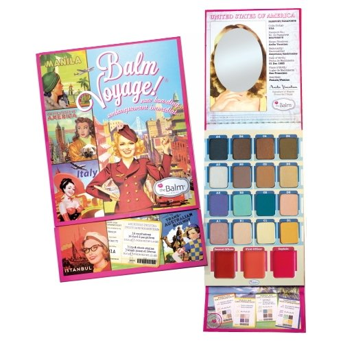 (3 Pack) theBalm Balm Voyage Holiday Face Palette - Balm Voyage