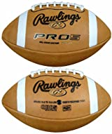Rawlings PRO5SYB Official Youth Size Leather Football - WHILE SUPPLIES LAST