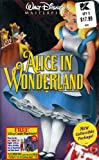 Video - Alice in Wonderland (Walt Disney Masterpiece Collection) [VHS]