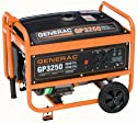 Generac 5724 GP3250 3,750 Watt 206cc OHV Portable Gas Powered Generator