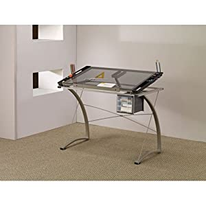 Amazon Com Coaster Desks Artist Drafting Table Desk