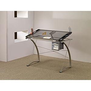 O Coaster Desks Artist Drafting Table Desk Home Office