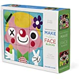 Crocodile Creek Make-A-Face Blocks Funny Face People Mix Match Block Stacking Set 2.5