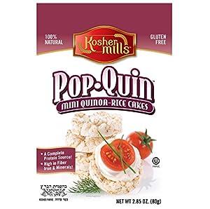 Kosher Mills Pop-Quin Mini Quinoa Gluten-Free Rice Cakes