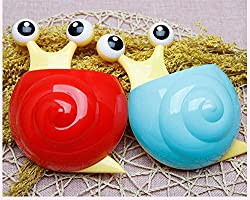 GeekGoodies Snail Bathroom Toothbrush / Toothpaste Holder - Blue
