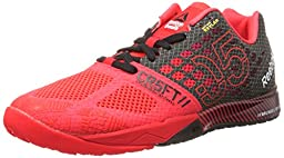 Reebok Women\'s R Crossfit Nano 5.0 Training Shoe, Neon Cherry/Black/Chalk, 5 M US