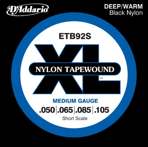 D'Addario ETB92S Tapewound Bass Guitar Strings,
