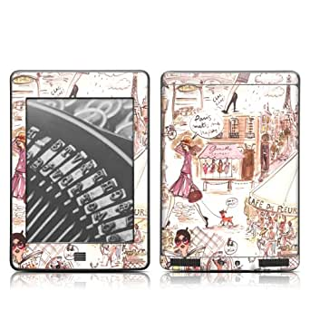 Decalgirl Skin per Kindle Touch, Parigi mi rende felice