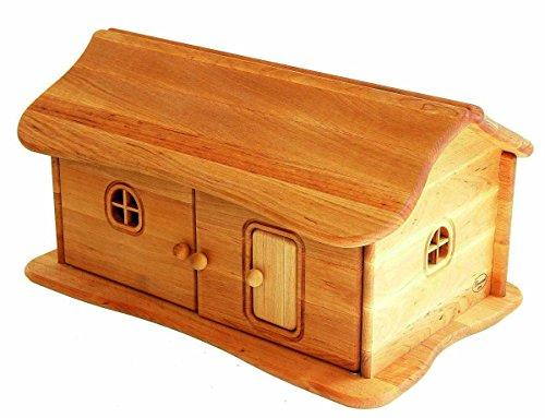 Bauernhof-Haus-mit-aufklappbarem-Dach-aus-massivem-Erlenholz