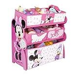 Delta, Mobile porta giocattoli Minnie Mouse, 63 x 30 x 67 cm