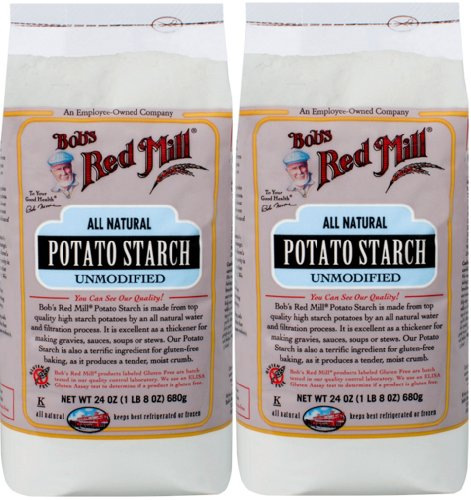 Potato Starch, Gluten Free 2/24oz Bob's Red Mill (Potato Corn Starch compare prices)
