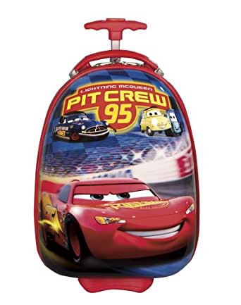 Disney By Heys Luggage Disney 18 Inch Hard Side Carry On Cars Crew Pit 95 Bag, Cars, One Size