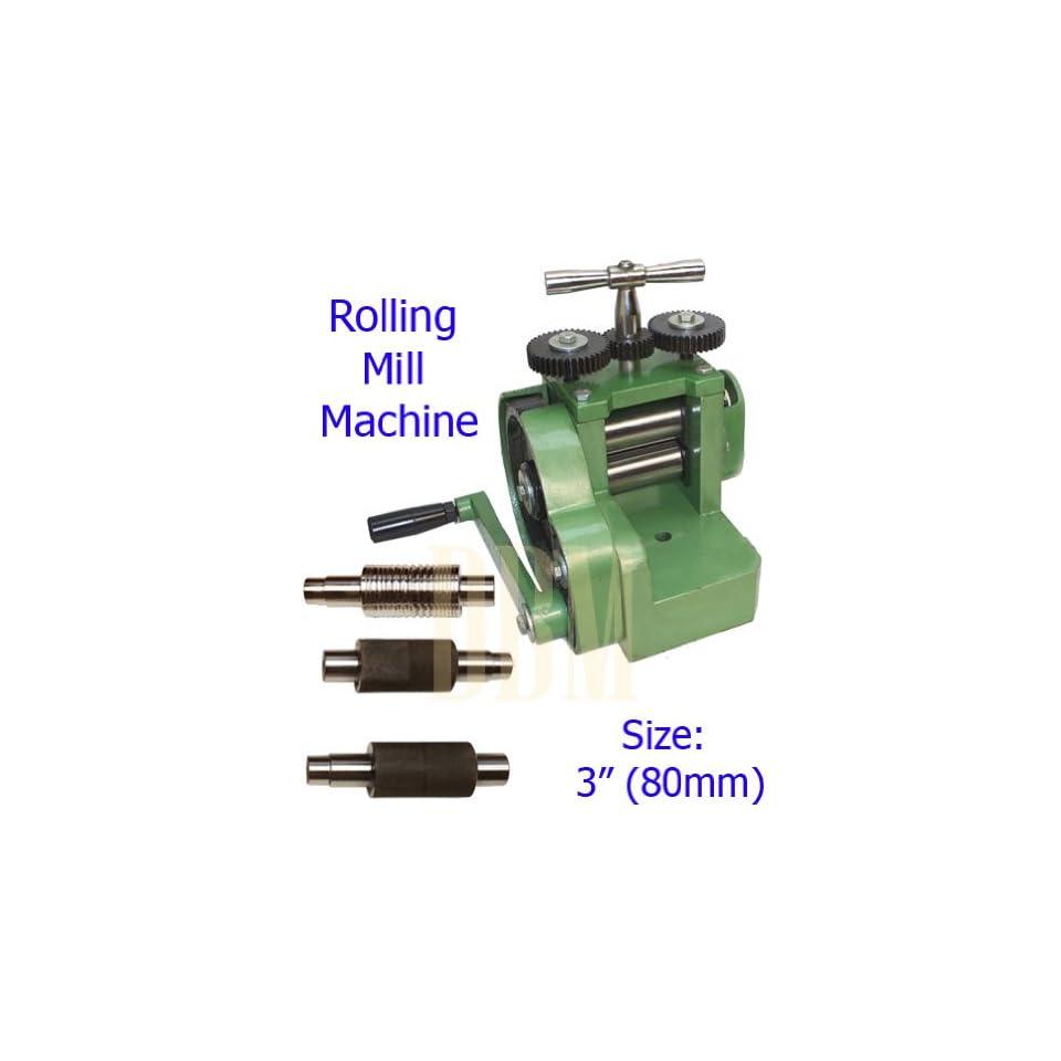 Rolling Mill Machine 3 (8mm) Wire Flat Pattern Sheet Metal