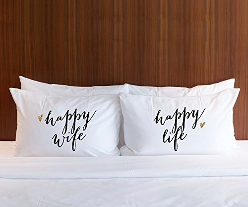 Pillowcase Gift for Couples or Wedding Gift for Newlyweds,