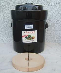 Fermentation crock Sauerkraut pot 10 Lt. from Germany