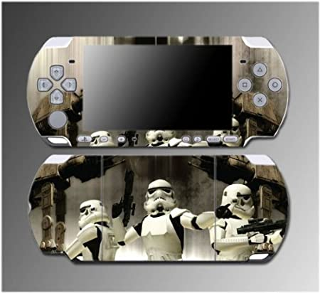 Star Wars Storm Troopers AT ST Rebel Video Game Vinyl Decal Sticker Cover Skin Protector #6 for Sony PSP Slim 3000 3001 3002 3003 3004 Playstation Portable