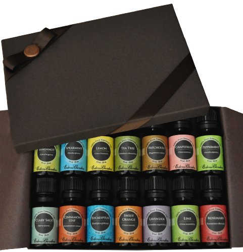 Essential Oil- Beginners Best of the Best Gift Set- (100% Pure Therapeutic Grade Essential Oils) 14/ 10 ml