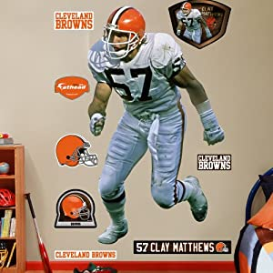 NFL Cleveland Browns Clay Matthews Legend Wall Graphics by Fathead