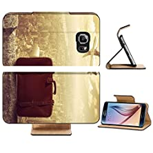 buy Samsung Galaxy S6 Flip Wallet Case Liili Premium Concpet Of Travel By Airplane Image Id 16329873