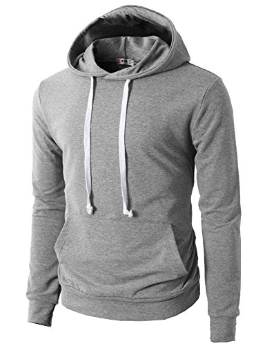 H2H-Mens-Fashion-Slim-Fit-Lightweight-Long-Sleeve-Hoodie-With-Various-Pastel-Colors