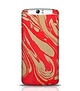 Stylebaby Cases and Covers for Boys Hand Drawn Marbling Illustration 2 Back Cover for Oppo N1 Multicolor