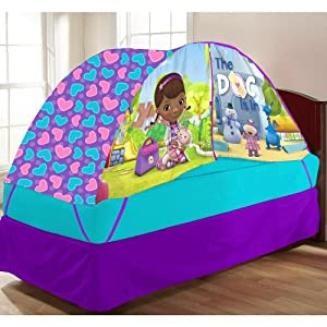 Disney Doc McStuffins Bed Tent with Pushlight from Disney