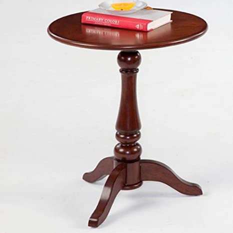 Progressive Furniture P300-66 Round Wood Chairside End Table