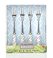 4 Great British Bake Off Cake Forks Set