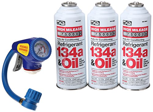 Interdynamics RKR-8 Recharge/Retrofit Kit with Trigger Charger, Gauge and CD (Ac Refrigerant Kit compare prices)