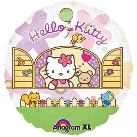 Hello Kitty Birthday Party Balloon see through jumbo 26 Inch - 1