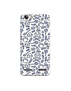 Lenovo K5 Plus Cute-halloween-pattern-in-doodle-style-01 Mobile Case by Mott2 (Limited Time Offers,Please Check the Details Below)