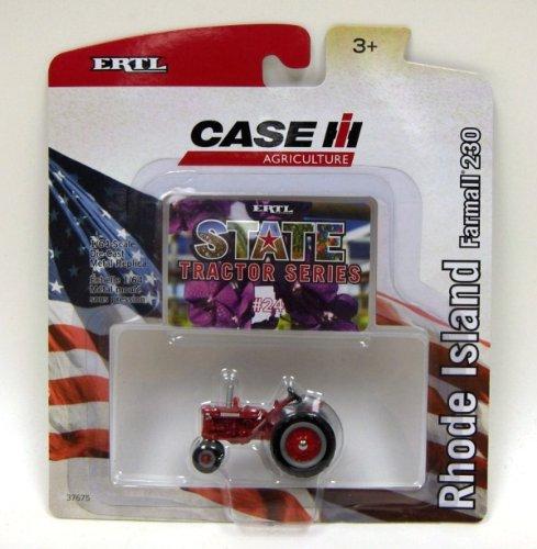 Ertl Case IH State Tractor Series #24 Rhode Island Farmall 230