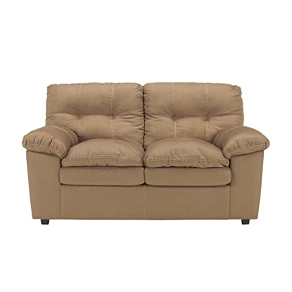 Mercer Loveseat in Mocha Fabric