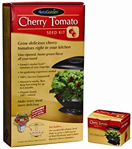 AeroGarden 0002-00Z Cherry Tomato Seed Kit (Discontinued by Manufacturer)