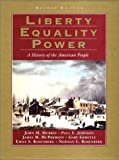 Liberty, Equality, Power: A History of the American People (0155080962) by Johnson, Paul E.