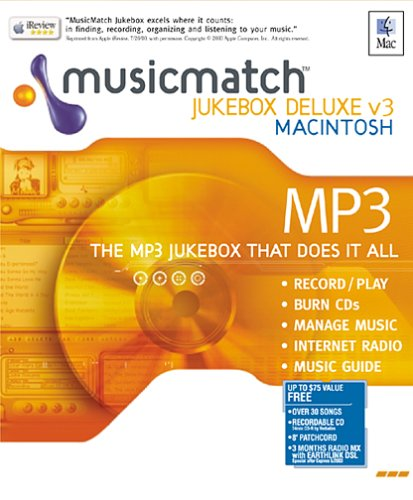 Musicmatch Mac Edition 3 front-643856