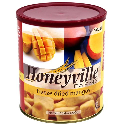 Freeze Dried Mango - 10.4 Ounce Can (Honeyville Freeze Dried Products compare prices)