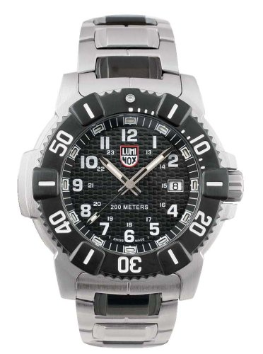 Luminox LU6102 Navy Seals Steel 6000 Black Dial