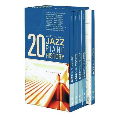 VA – Jazz Piano History (20CD Box Set) (2006) [FLAC]