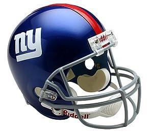 NFL New York Giants Deluxe Replica Football Helmet by Riddell