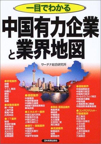 一目でわかる中国有力企業と業界地図