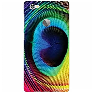 Letv Le 1s Back Cover - Silicon Peacock Desiner Cases